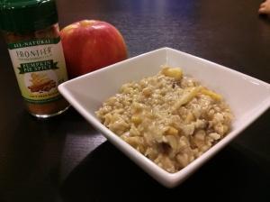 Autumn Apple Oatmeal