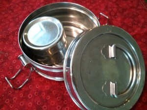 To-Go Ware Stainless Steel Food Container with Sidekick