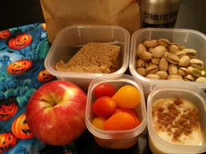 Whole Food School Lunch:  October 21