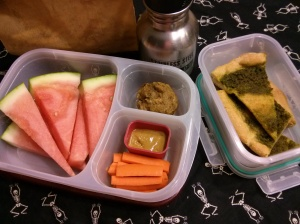 Whole Food School Lunch:  October 23