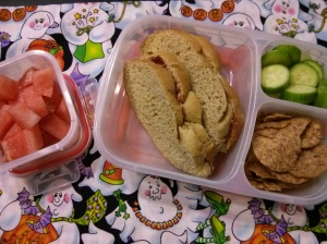 Whole Food School Lunch:  October 28