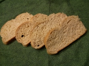 Sliced Whole Wheat Challah
