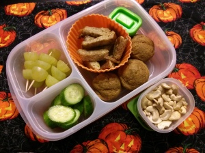 Whole Food School Lunch:  October 30