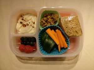 Whole Food School Lunch:  November 3
