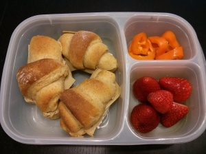 Whole Food School Lunch:  Dec. 9