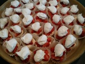 Mini Muffin Angel Cakes