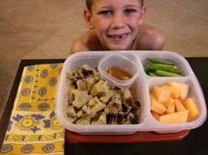 Whole Food School Lunch:  February 26