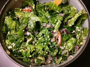 Raw Collard Salad