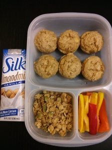 Whole Food School Lunch:  April 9
