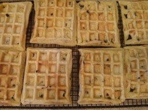 Waffles Cooling