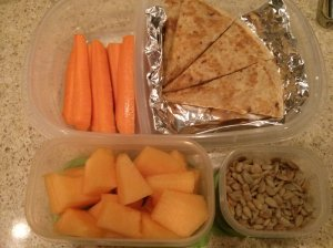 School Lunch:  August 25