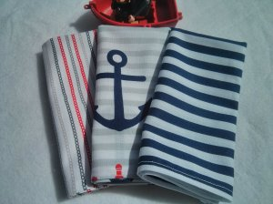 Anchors Away Cloth Napkin Set