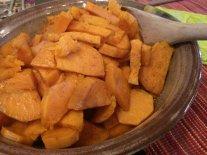 Vegetarian Sweet Potatoes